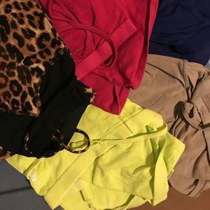 Lot of 5 Express Camisole Tanks